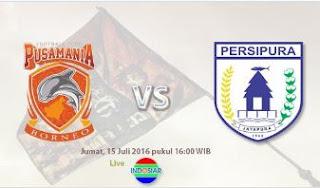 Persipura Taklukkan Pusamania Borneo FC 3-0