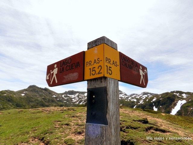 Camino a los lagos, Parque Natural de Somiedo, Asturias