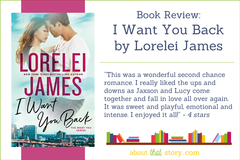Book Review: I Want You Back by Lorelei James | About That Story