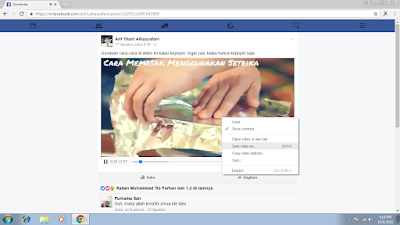 Tutorial Gampang Download Video di Facebook 20