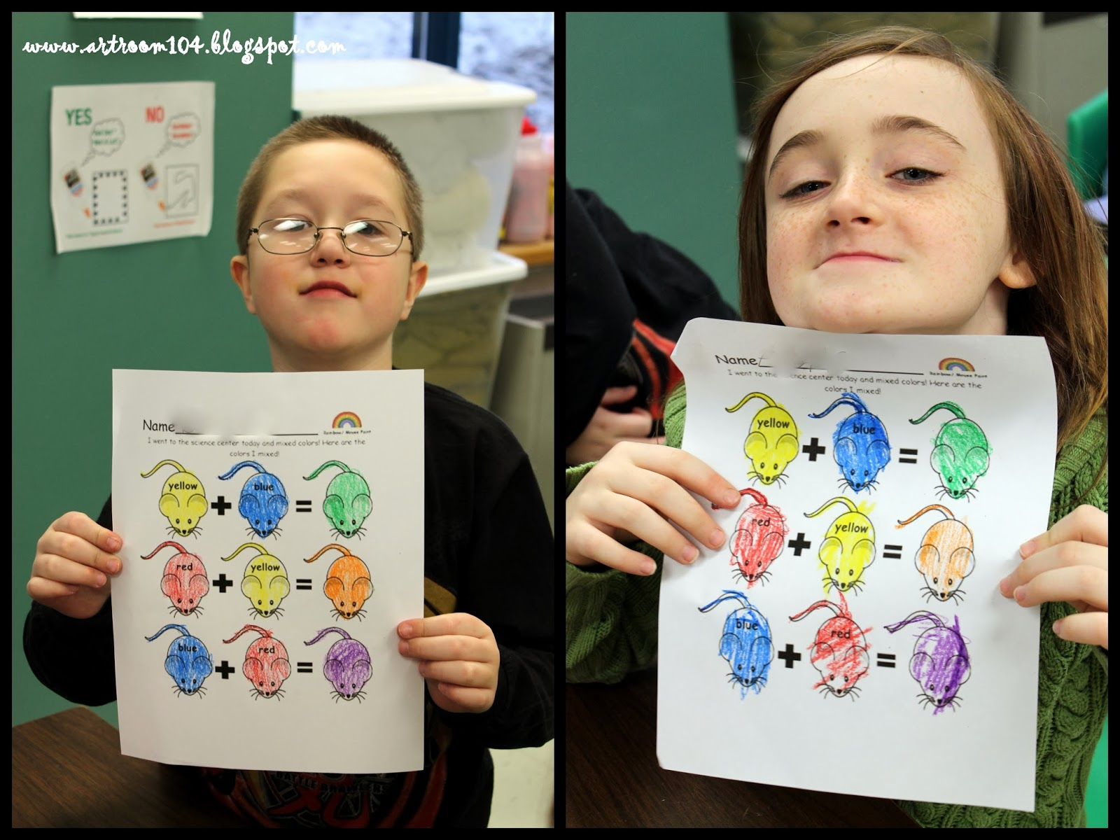 Art Room 104 Mouse Color Wheels