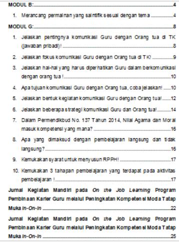 Geveducation:  Contoh Laporan Pengembangan Keprofesian Berkelanjutan (PKB) 2018/2019  format terbaru