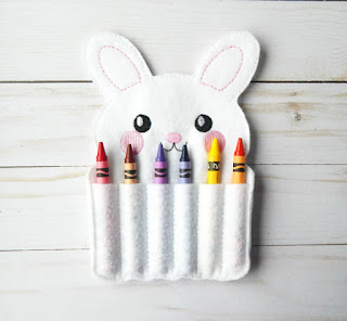 Non-candy Easter basket gifts crayon holder
