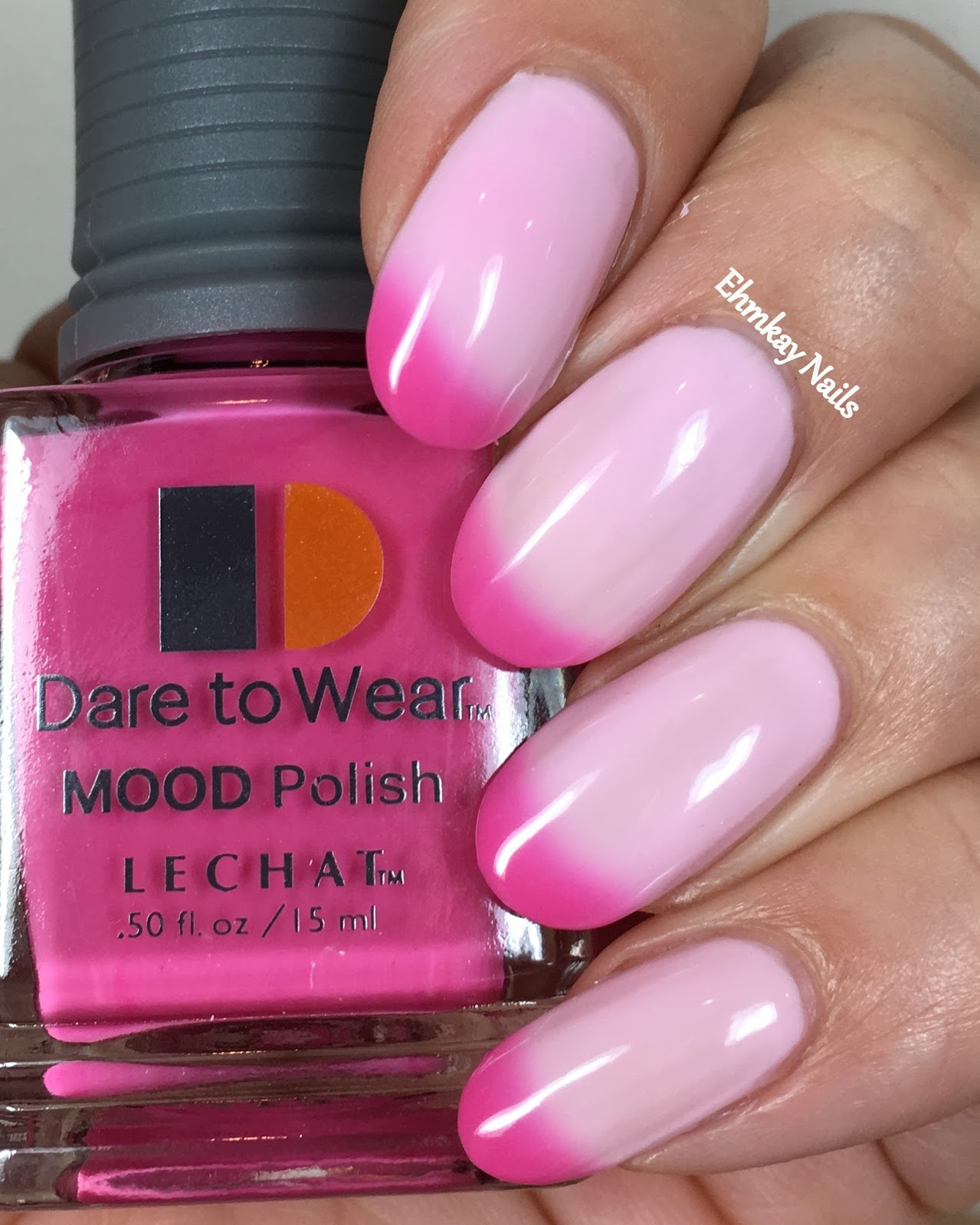 ehmkay nails: Lechat Dare to Wear Mood Polishes, Swatches and Review