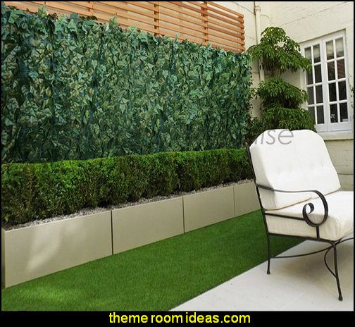 Artificial Leaf Vine Hedge Outdoor Decor