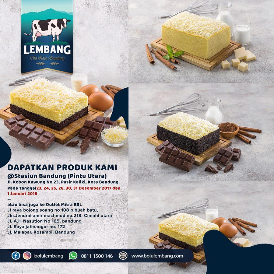 Bolu Susu Lembang, Cita Rasa Terbaru dari Bandung - Rara ...