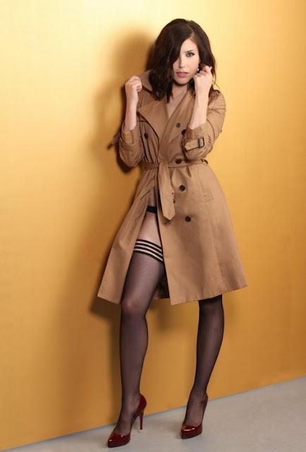 Sophia Bush In Stockings And High Heels