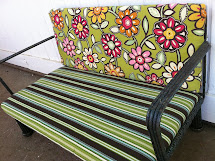 Naptime Craft Time -sew Patio Furniture Cushion