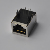 POE 100Base-T Ehernet RJ45 Connector