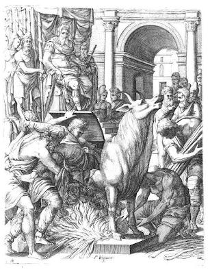 Ο τύραννος του Ακράγαντα Φάλαρης και ο Πέριλλος ο Αθηναίος