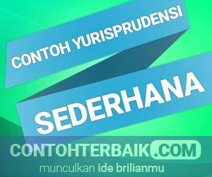 Contoh Yurisprudensi