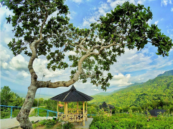 Salah satu spot indah di Green village Gedangsari