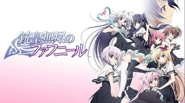 Top Best Romance Magic School Anime List - Juuou Mujin no Fafnir (Unlimited Fafnir)