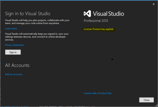 Buy Microsoft Visual Studio Professional 2015 key