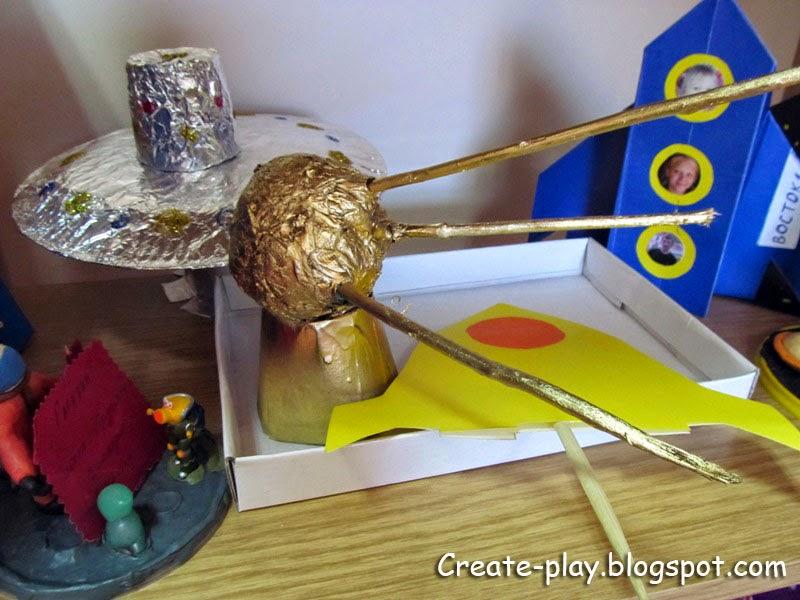 поделки ко дню космонавтики для детского сада