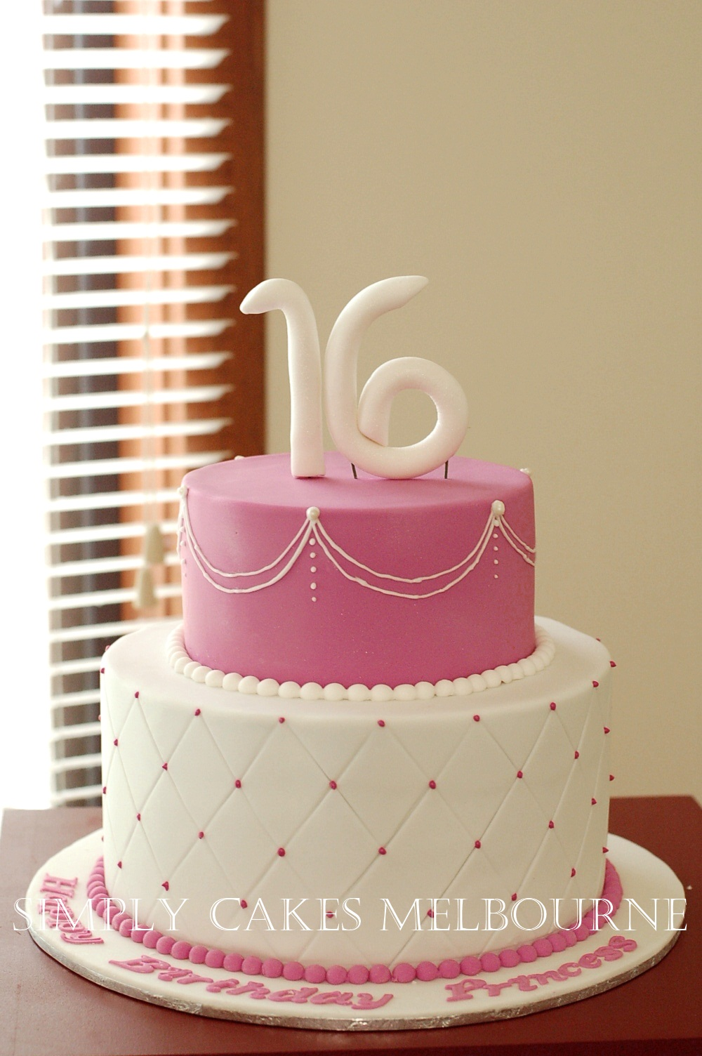 Simply Cakes Melbourne Princess Cake Themed For 16th Birthday
