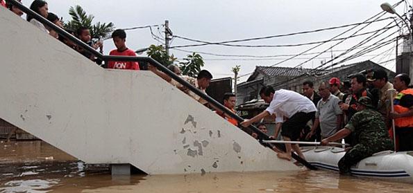 Prabowo: Jika Jokowi Tepati Janji, Seharusnya Jakarta tak Banjir Lagi