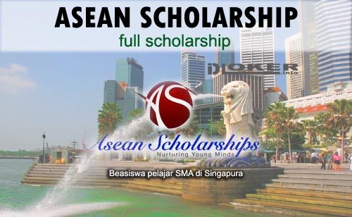 Beasiswa SMA Asean Scholarships for Indonesia 2020 di Singapura