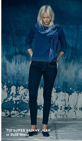 Blue Hue Indigo Jeans