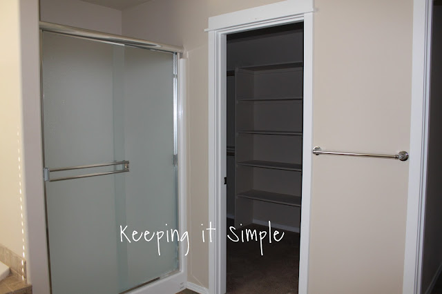 Keeping It Simple Master Bathroom Makeover With Gray And