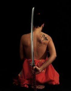 tatto wanita yakuza jepang