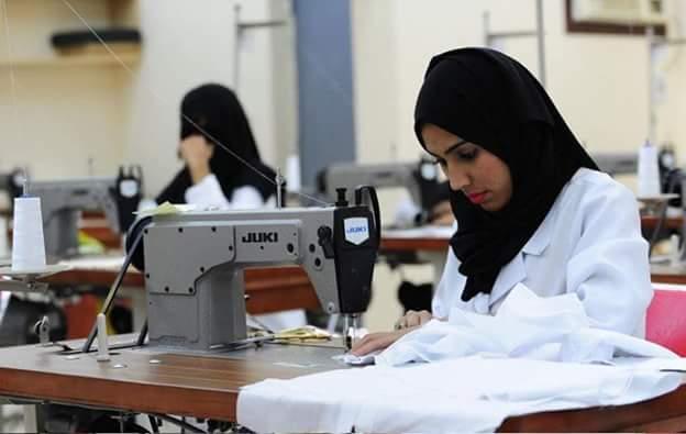 تمكين المرأة لتأخذ دورها في عملية التنمية
