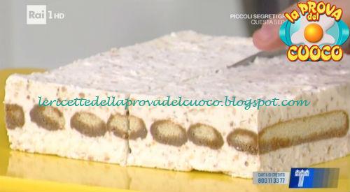 Tiramisù torronato ricetta Montersino da Prova del Cuoco