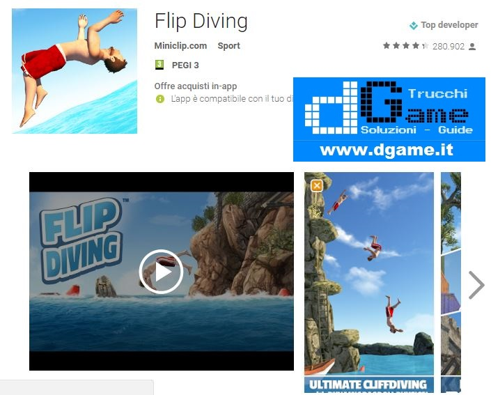 Trucchi Flip Diving v2 5 5 Mod Apk Android Monete infinite