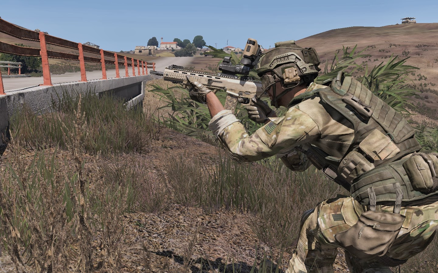 Real and Simulated Wars: ArmA 3 - The Slammer Tank and the