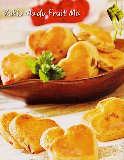 Resep Kue - Kukis Madu Fruit Mix