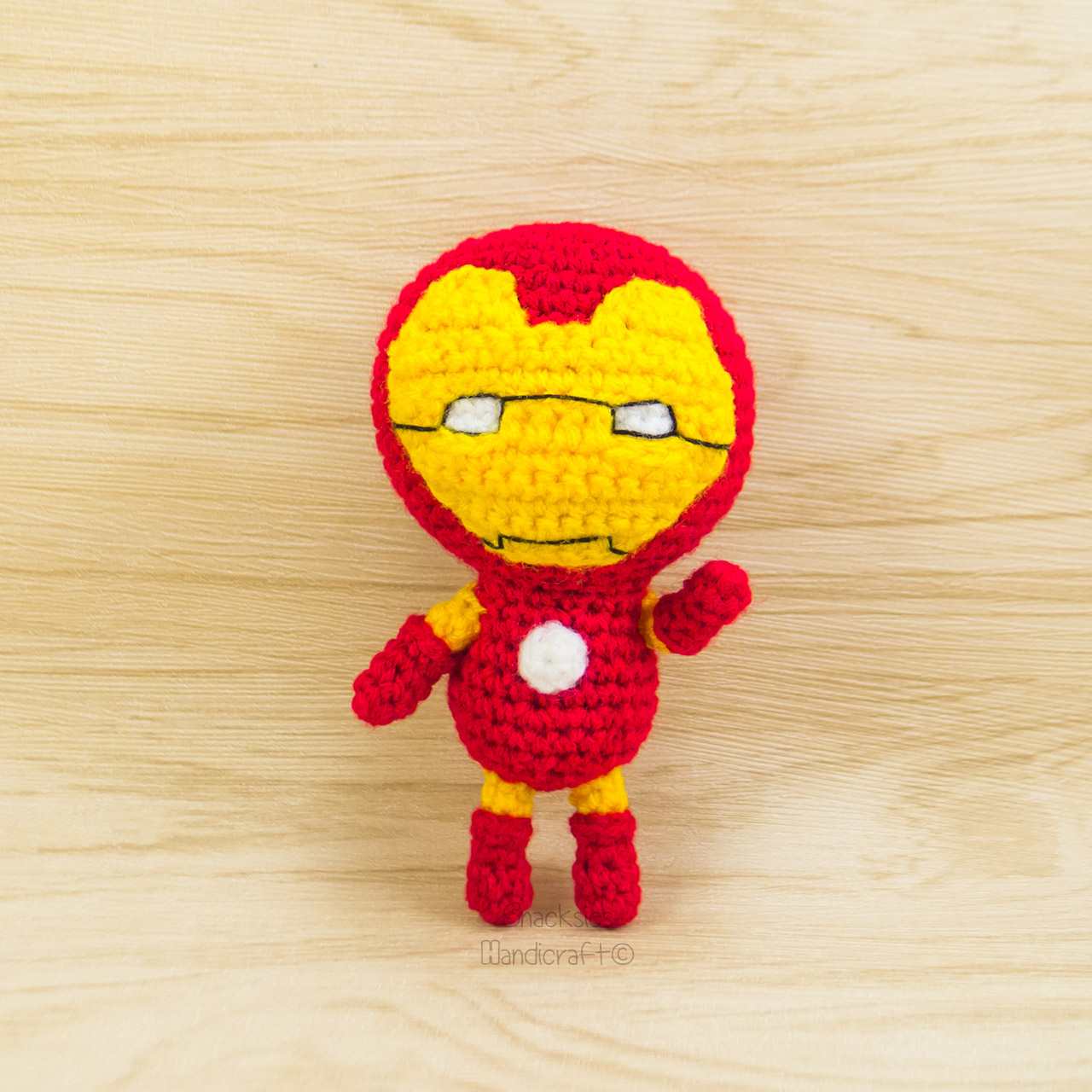 The Justice League: The Flash – Crochet Pattern – My Creative Blog | 1280x1280