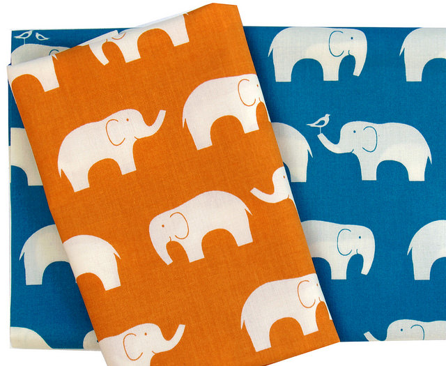 Mod Basics ~ Elephant Family by Jay-Cyn Designs for Birch Fabrics | Red Pepper Quilts