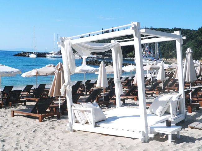 best Parga organized beaches