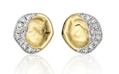Jewellery Every Woman Should Own: Monica Vinader Diamond Pave Stud Earrings