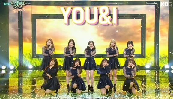 UNI+ G Perform On Music Bank!