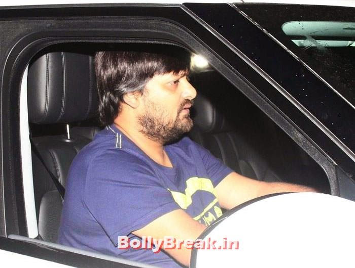 Wajid Ali, Celebs clicked at 'Kick' Special Screening at Yash Raj Studios
