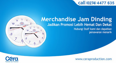 Jam Dinding Promosi - Ceraproduction.com