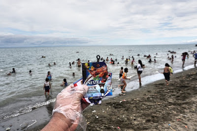 Neste Tea Ices packaging taking a plunge in Summer 2018 in Talisay, Cebu