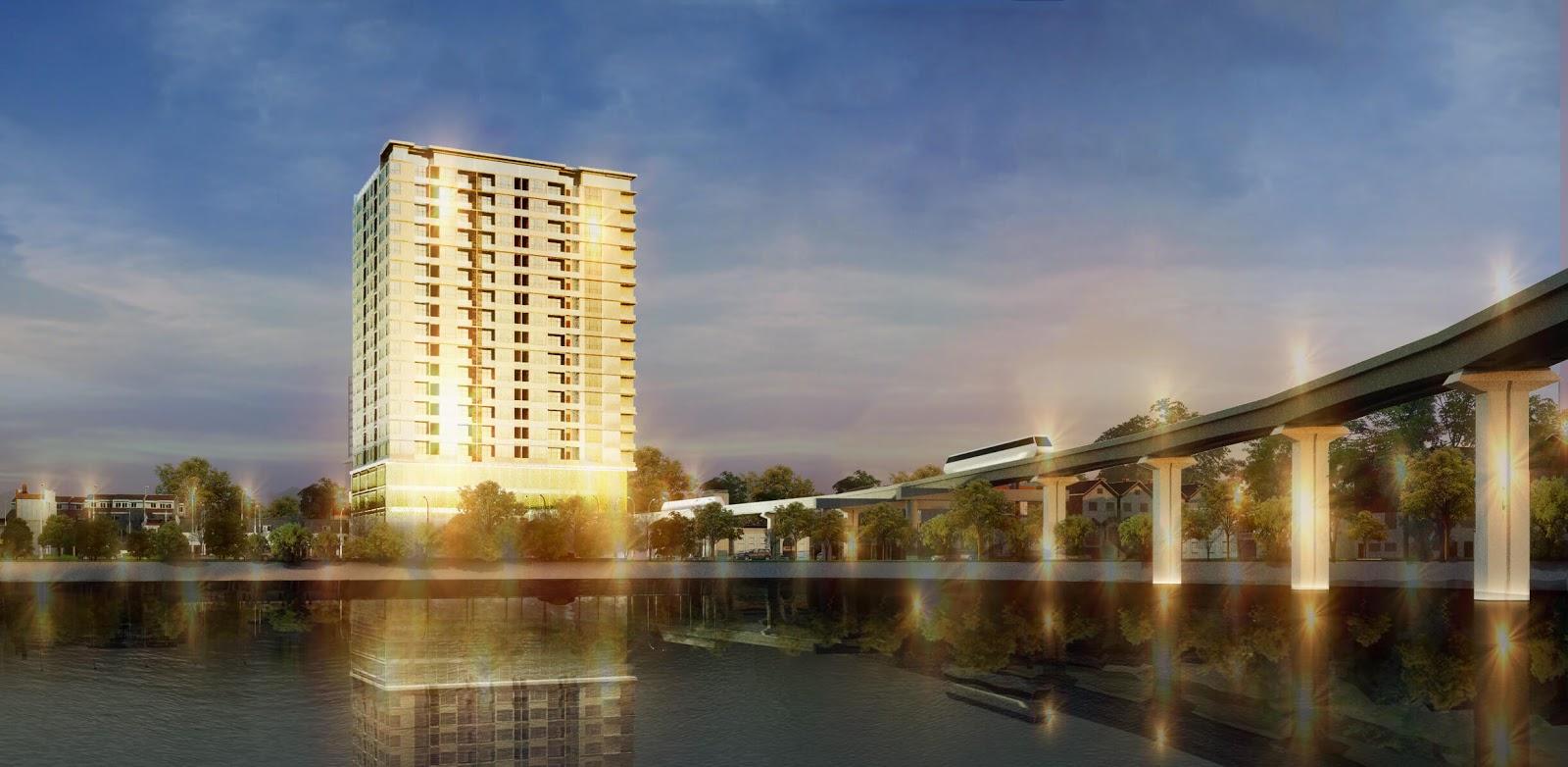 Phối cảnh dự án chung cư Hoàng Cầu Skyline