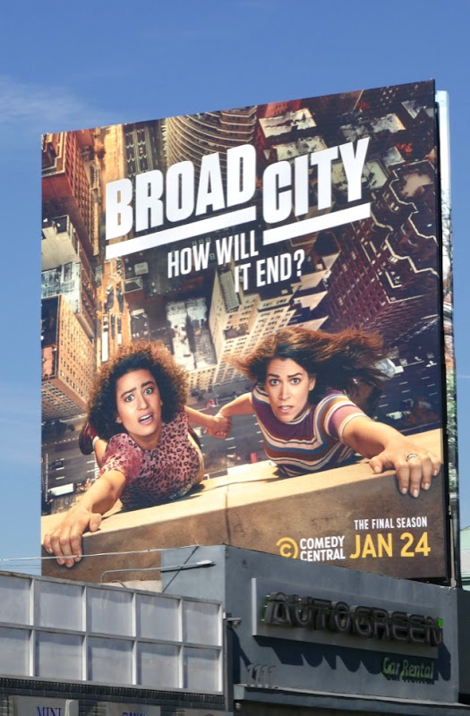 Broad City final season 5 billboard