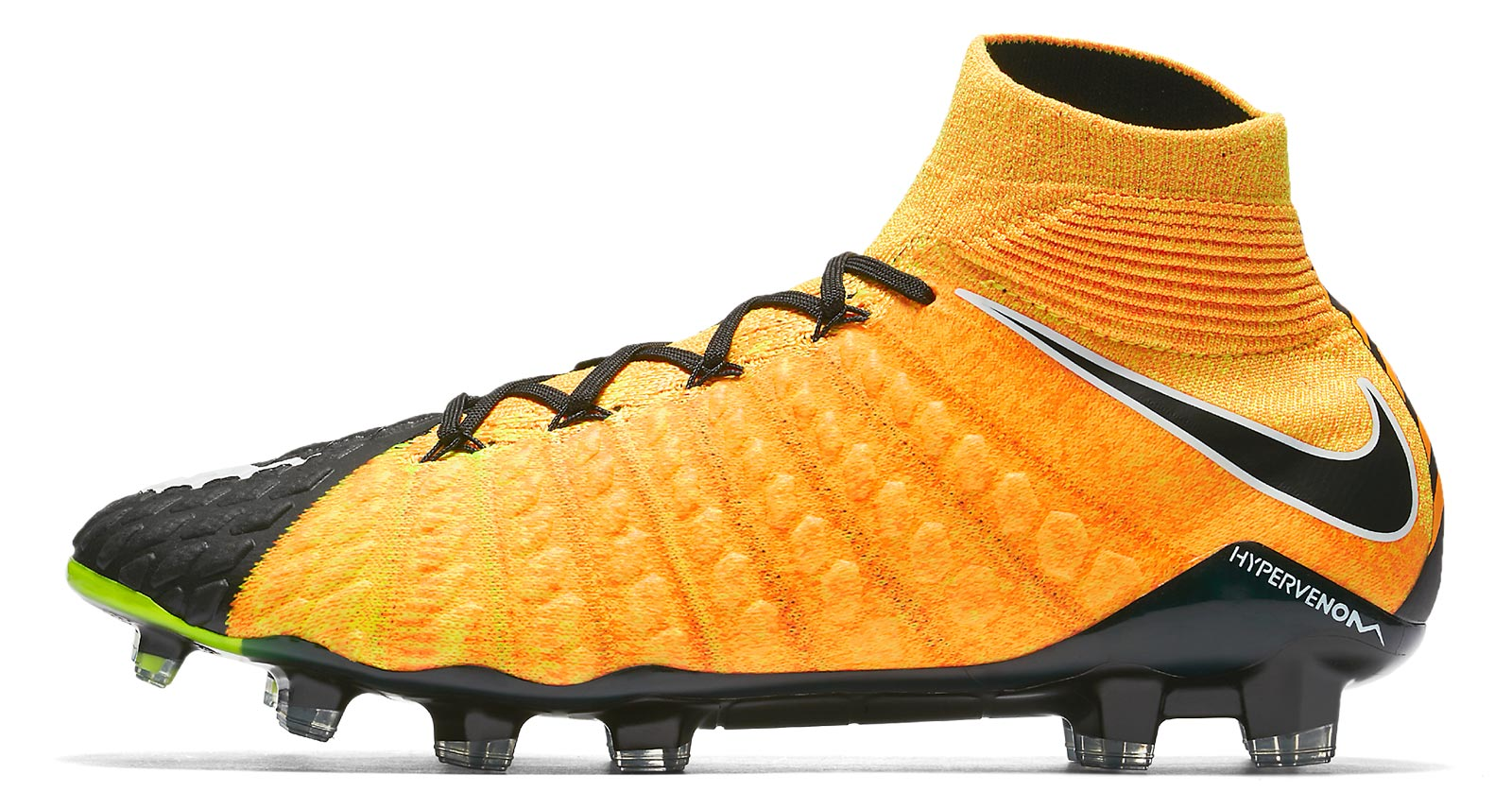sports shoes 77958 68f7d ... australia hypervenom phantom iii fußballschuh schwarz schwarz orange  nike a25bd c33df