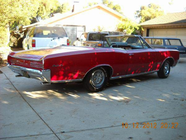 1966 Pontiac Gto Convertible For Sale Buy American