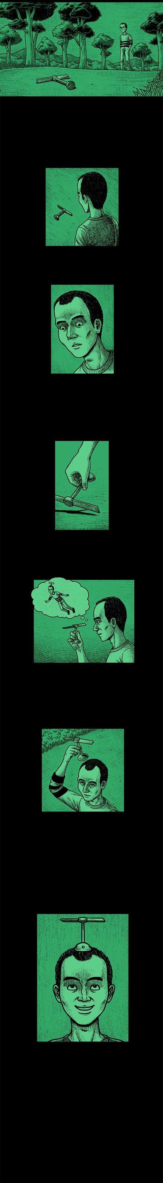 Truyện kinh dị: Chong chóng tre của Đô rê mon