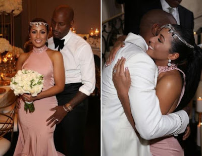 Photos of Tyrese Gibson and new wife