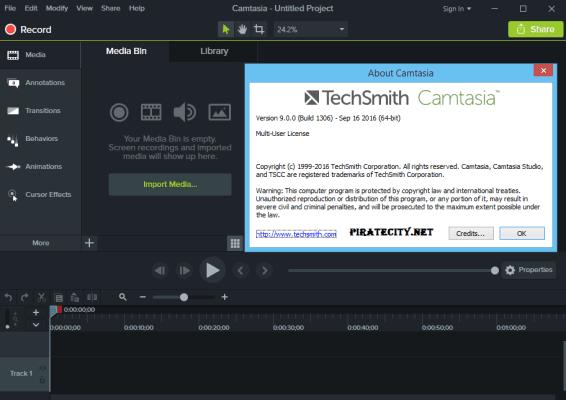 تحميل برنامج camtasia studio 8 مفعل مدى الحياة بدون تثبيت
