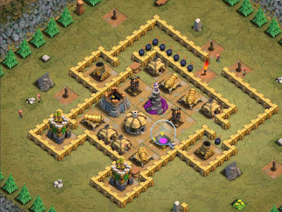 Goblin Base Clash of Clans Choose Wisely