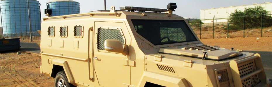 Military Vehicle UAE