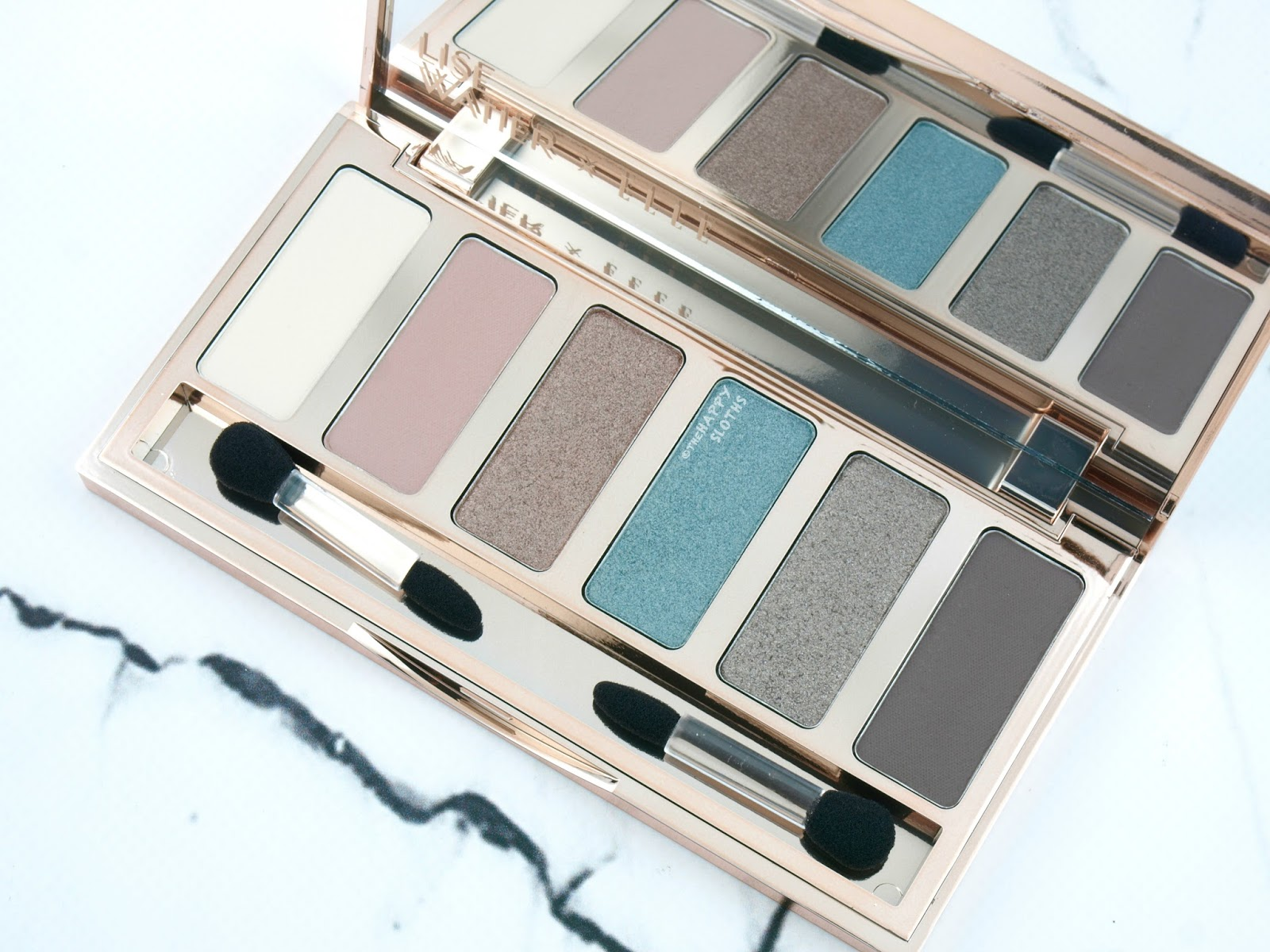 Lise Watier x ELLE Weekender Eyeshadow Palette: Review and Swatches