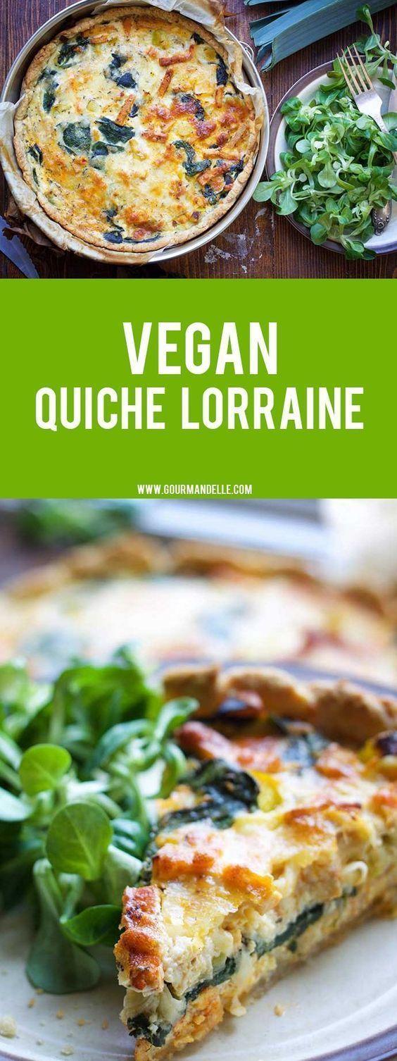 Vegan Quiche Lorraine