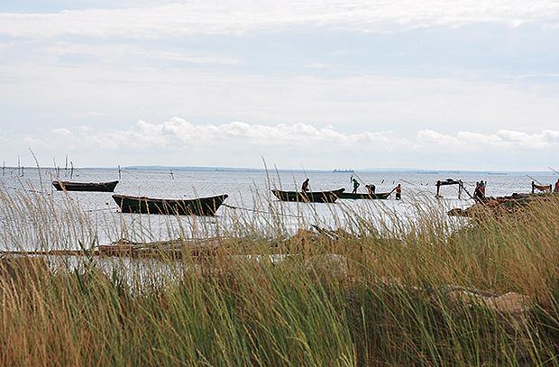Рыбаки в Крыму
